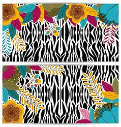Animal Print design vector image