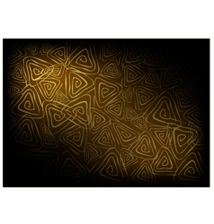 Brown Vintage Wallpaper with Triangle Spiral vector image