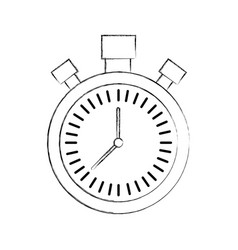 chronometer countdown speed timer object icon vector image