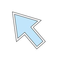 click arrow cursor vector image