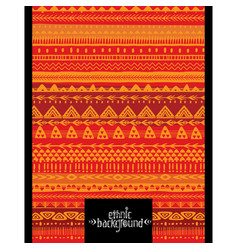 Ethnic geometric background design for poster vector