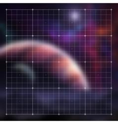 futuristic hud video gaming interface vector image