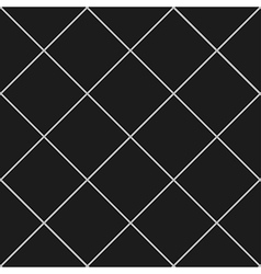 Grid Diamond Square Gray Black Background vector