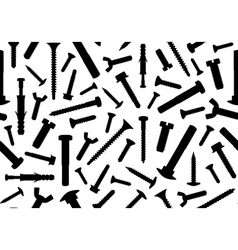 Screws seamless vector image