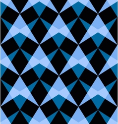 Seamless pattern with abstract shapes vector