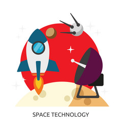 Space space technology image vector