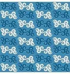 Vintage eastern seamless pattern vector