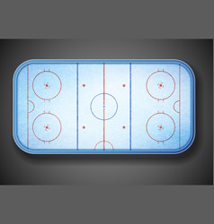 Hockey stadium vector image vector image