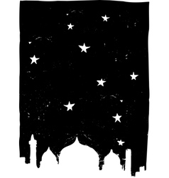 Istanbul Night vector image vector image