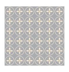 Seamless circles vector image