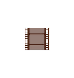 a piece cut film string small negative frame vector image