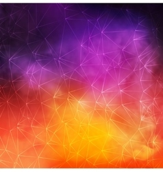 Abstract colorful smoky background with vector