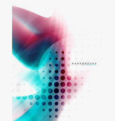 background abstract fluid colors design vector image