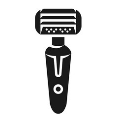 Battery powered shaver icon simple style vector
