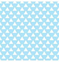 geometric light blue seamless pattern vector image