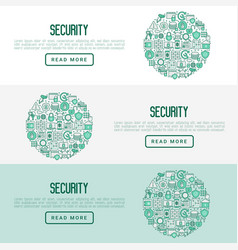 Security and protection concept vector