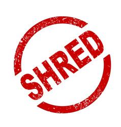 Shred vector