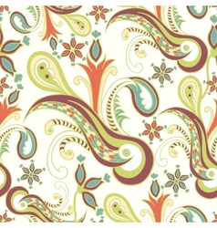 Vintage ornament seamless texture vector image vector image