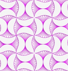 3d purple striped pin will vector