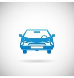 Automobile symbol car silhouette icon design vector