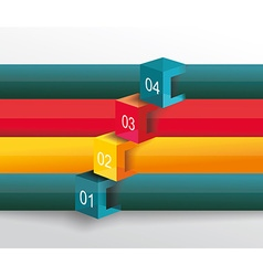 infographic or web design vector image vector image
