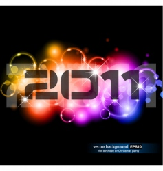 new year celebration vector image vector image