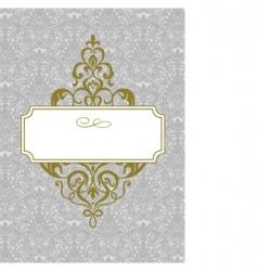 royal template vector image