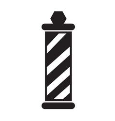 Barber shop pole icon design vector