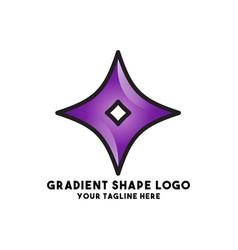 Coorporate logo design concept art vector