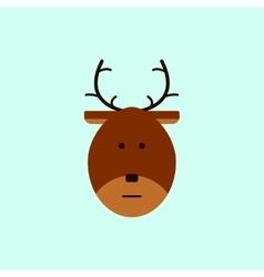 New year deer Christmas deer vector