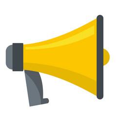 one megaphone icon cartoon style vector image