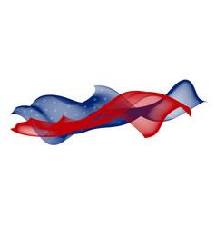 soft line design usa flag vector image