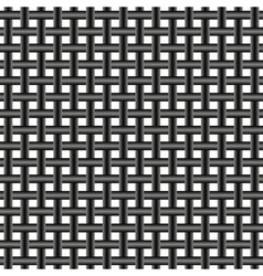 mesh of steel wire vector image