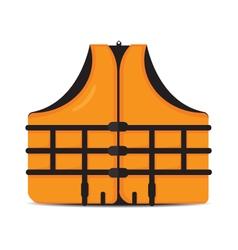 life jacket vector image