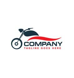 auto motorbikes logo design vector image