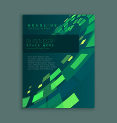 Company business brochure page abstract design vector