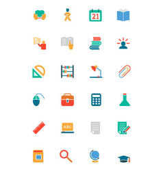 Education Colored Icons 9 vector