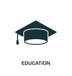 Education icon symbol creative sign from icons vector