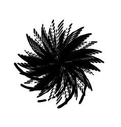 Grunge spiralled stamp vector