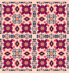 Seamless tribal background for textile design vector