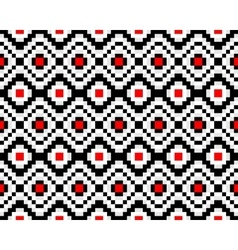 Trendy seamless ethnic pattern vector