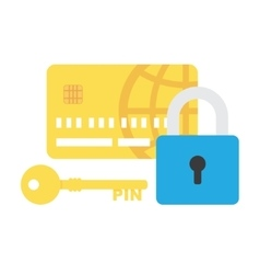 Credit Card Security icon vector image