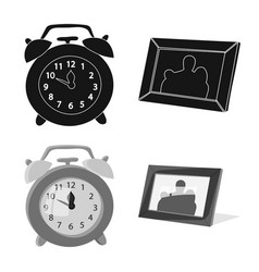 Design of dreams and night sign collection vector