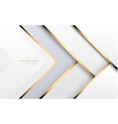 Luxury tech background stack white vector