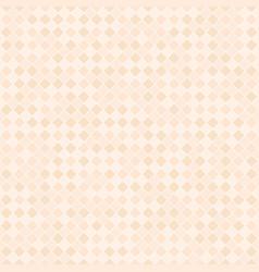 orange checkered diamond pattern seamless vector image