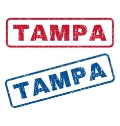 Tampa Rubber Stamps vector image