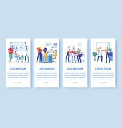 University family health center banners vector
