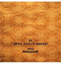 Vintage Seamless Grunge Wallpaper vector image