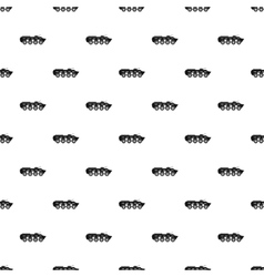 Armoured troop carrier wheeled pattern vector