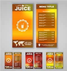 Blur menu vector